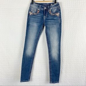 Miss Me Hailey Skinny Embellished Jeans NWT 24